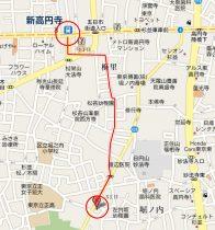 ジョイフル新高円寺-地図1