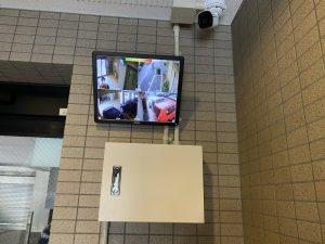 江戸川区 セイントストークマンション502 防犯カメラ