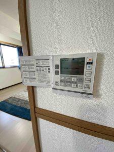 江戸川区 セイントストークマンション502 床暖房パネル