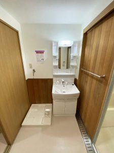 江戸川区 セイントストークマンション502 洗面台